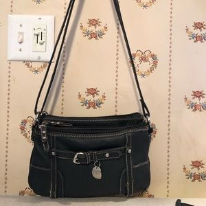 Used black Rosetti purse, small but holds a lot.